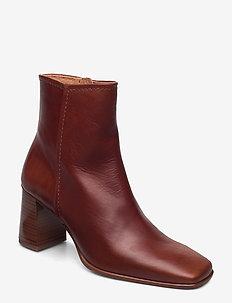 STB-AGATA L - ankelstøvler med hæl - tan