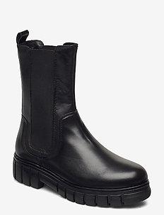 STB-REBEL CHELSEA HIGH L - chelsea støvler - black
