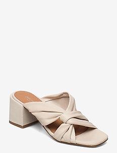 STB-ELODIE TWIST L - heeled sandals - off white