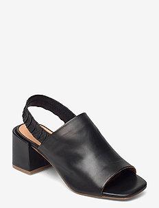 STB-ELODIE SLINGBACK L - sandalen mit absatz - black
