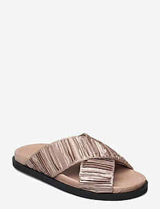 STB-IVY CROSS T - flat sandals - nude
