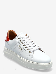 STB-VINCA LACE L - lage sneakers - white/ red