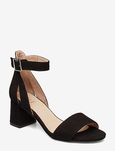 STB-MAY S - højhælede sandaler - black