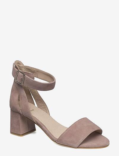 STB-MAY S - højhælede sandaler - pale blush