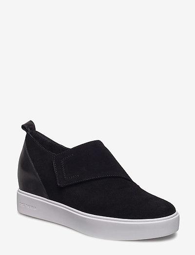LISA S - slip-on sneakers - black