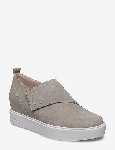 LISA S - slip-on sneakers - light grey
