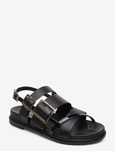 STB-JOY MULTI STRAP L - flade sandaler - black