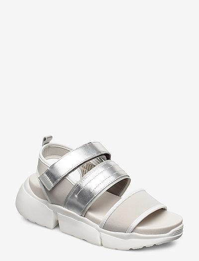 STB-MALA SPORT L - flade sandaler - silver