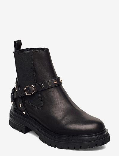STB-FRANKA CAGE L - chelsea støvler - black