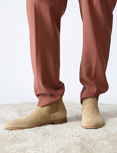 Shoe The Bear Dev Suede Chelsea Boots Sand