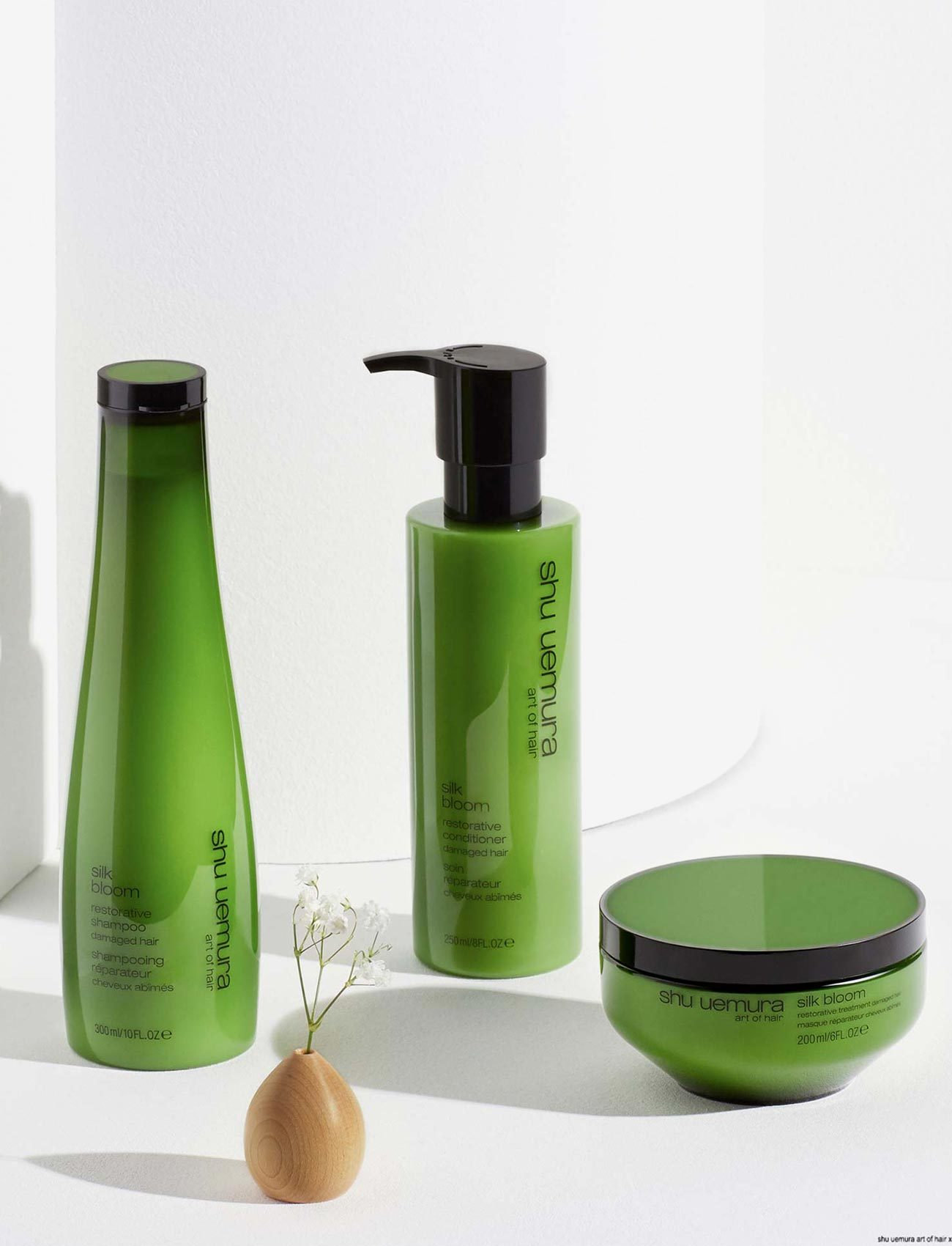 Shu Uemura Art of Hair - Silk Bloom Masque - hårmasker - clear - 3
