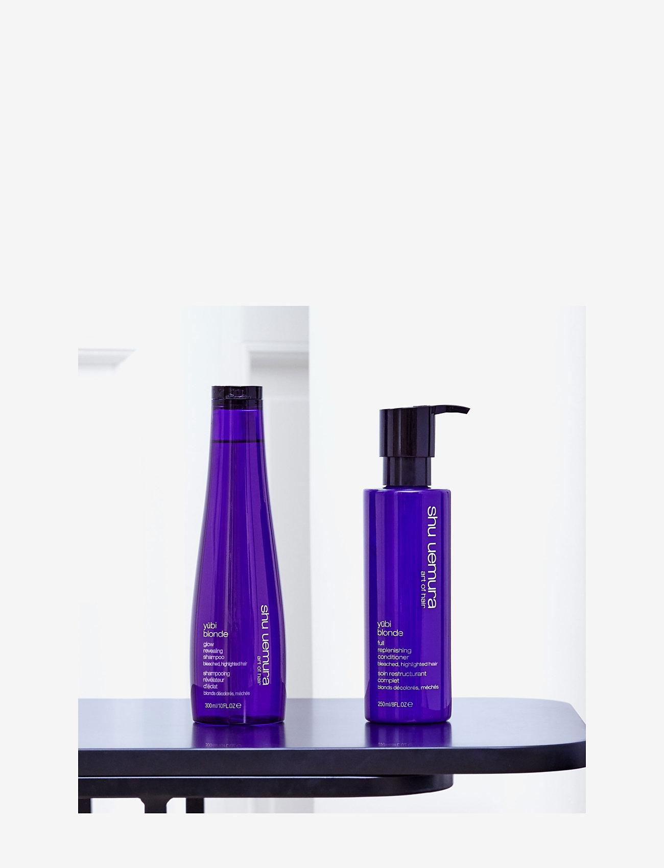 Shu Uemura Art of Hair - Yubi Blonde Glow Revealing Shampoo - sølvsjampo - clear - 3