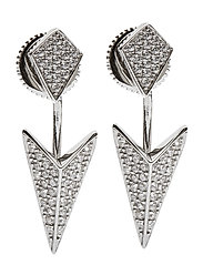 PECETTO EARRINGS - SILVER
