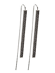 SIMERI GRANDE EARRINGS - SILVER