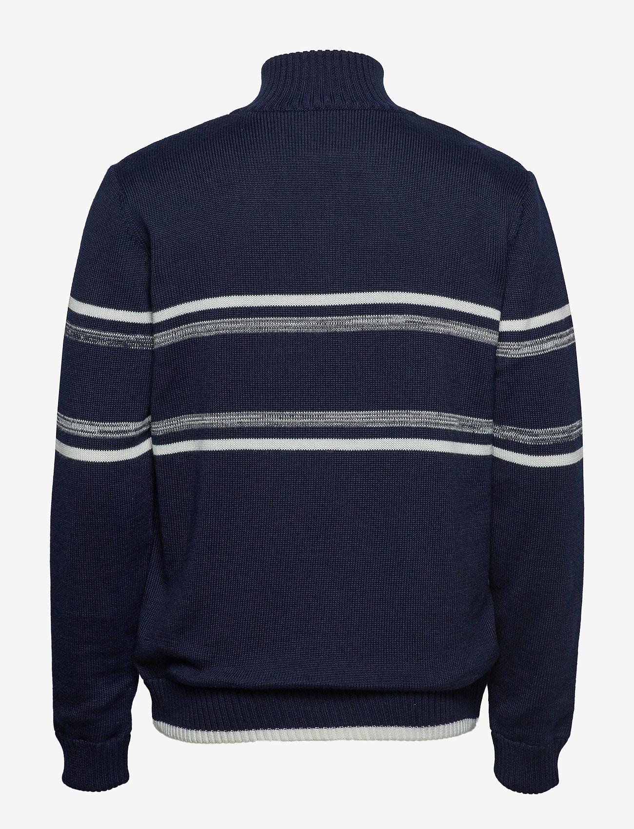 Signal - Knit - half zip jumpers - duke blue - 1