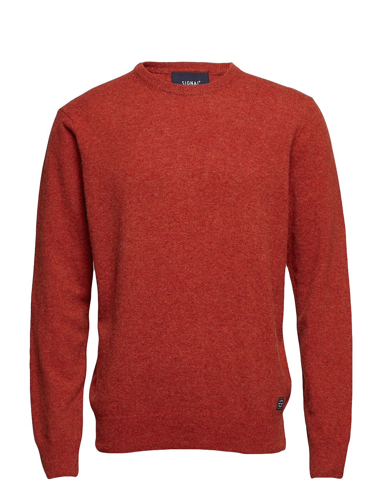 Signal Knit - ORANGE RUST MELANGE