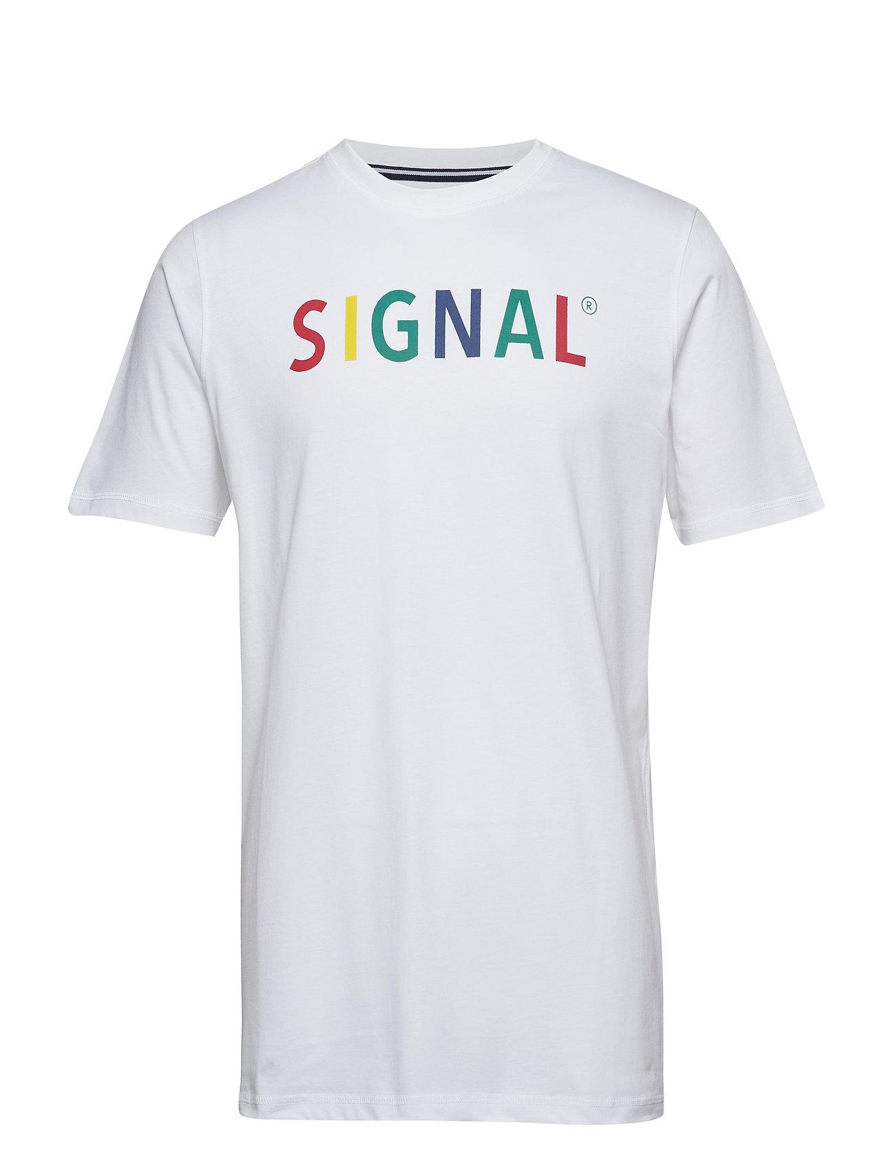 Signal T-shirt/Top - WHITE