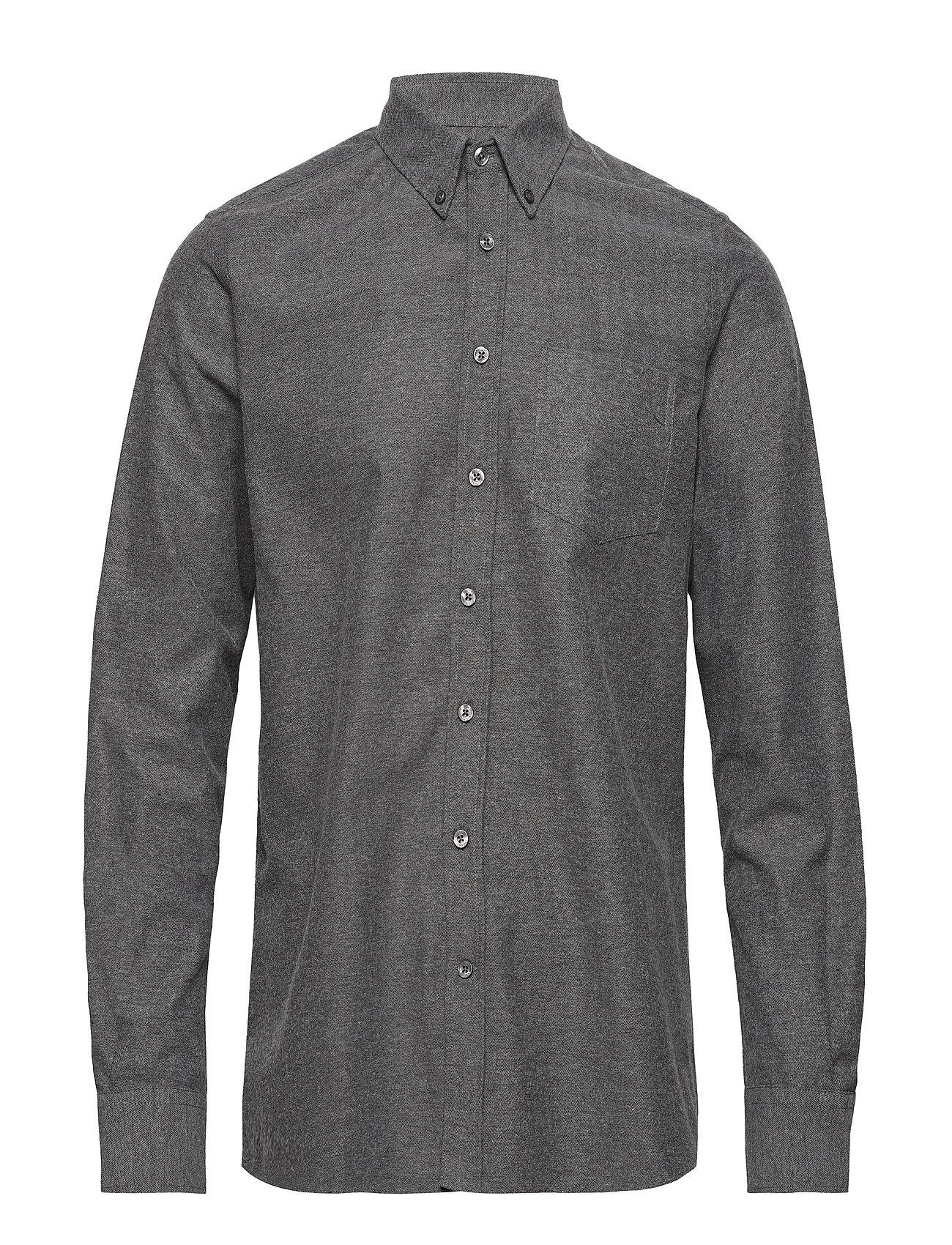 Signal L/S Shirts - GREY MELANGE