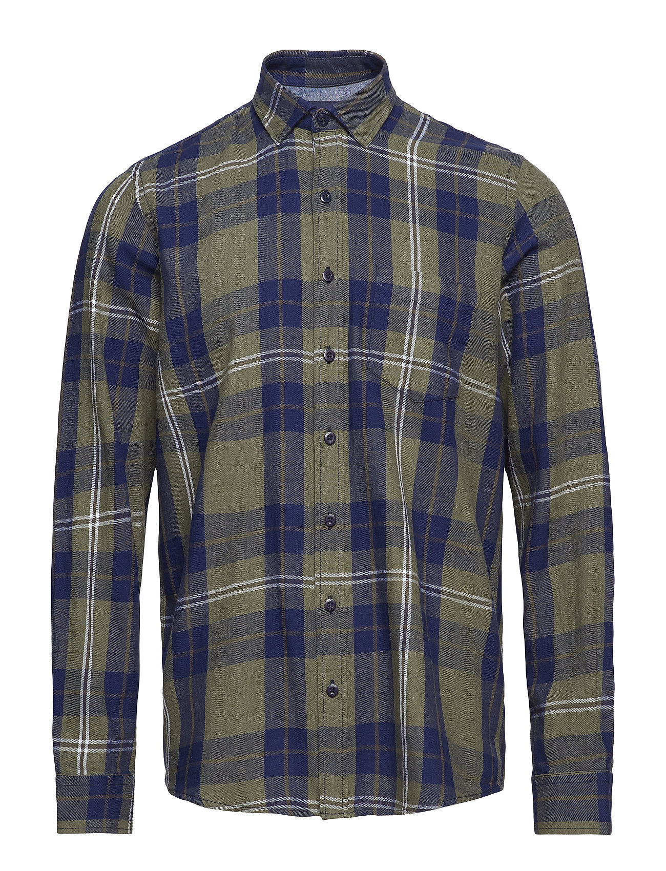 Signal L/S Shirts - GREEN BEETLE