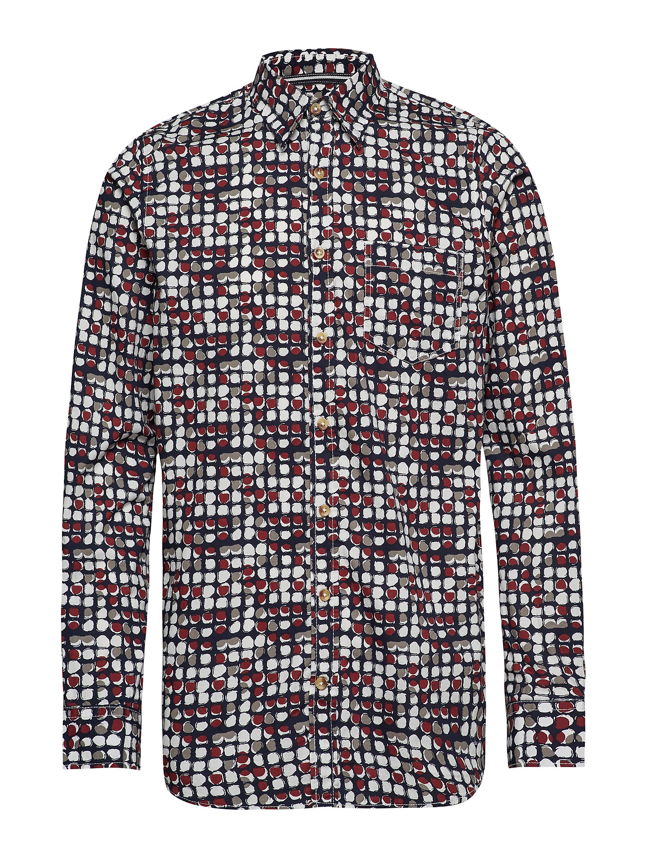 Signal L/S Shirts - RED FRUIT