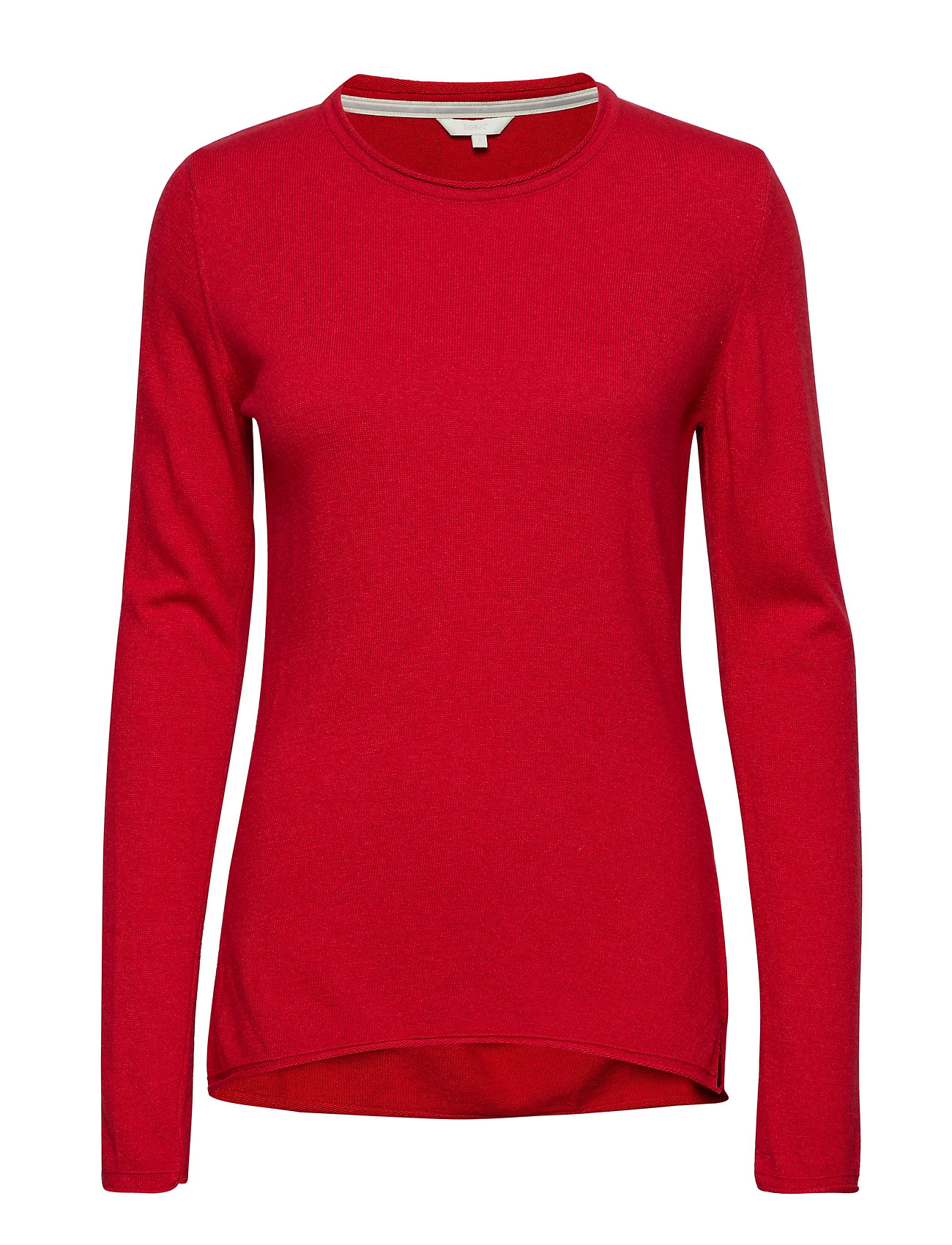 Signal Knit - HAUTE RED