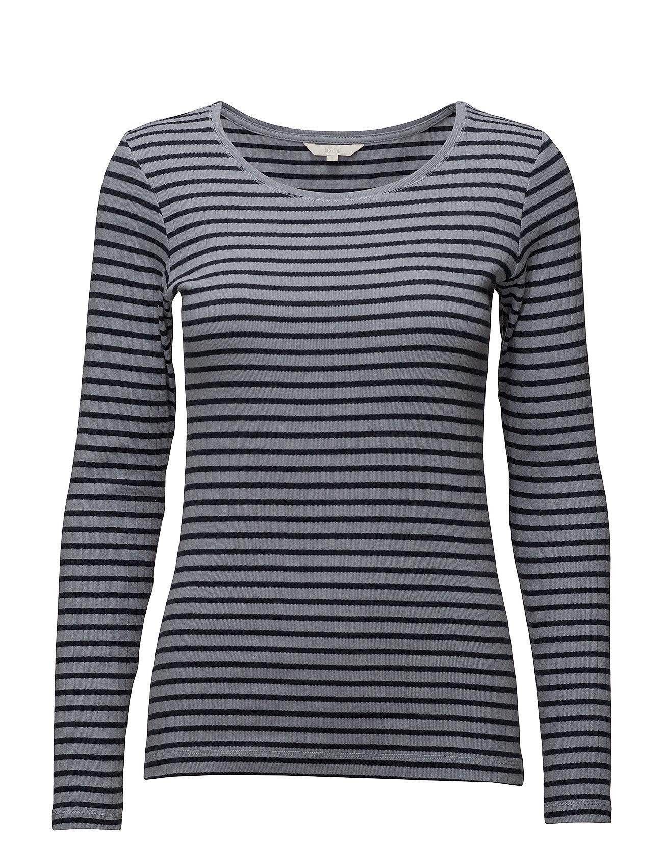 T ShirtTop Langærmet T shirt Blå SIGNAL