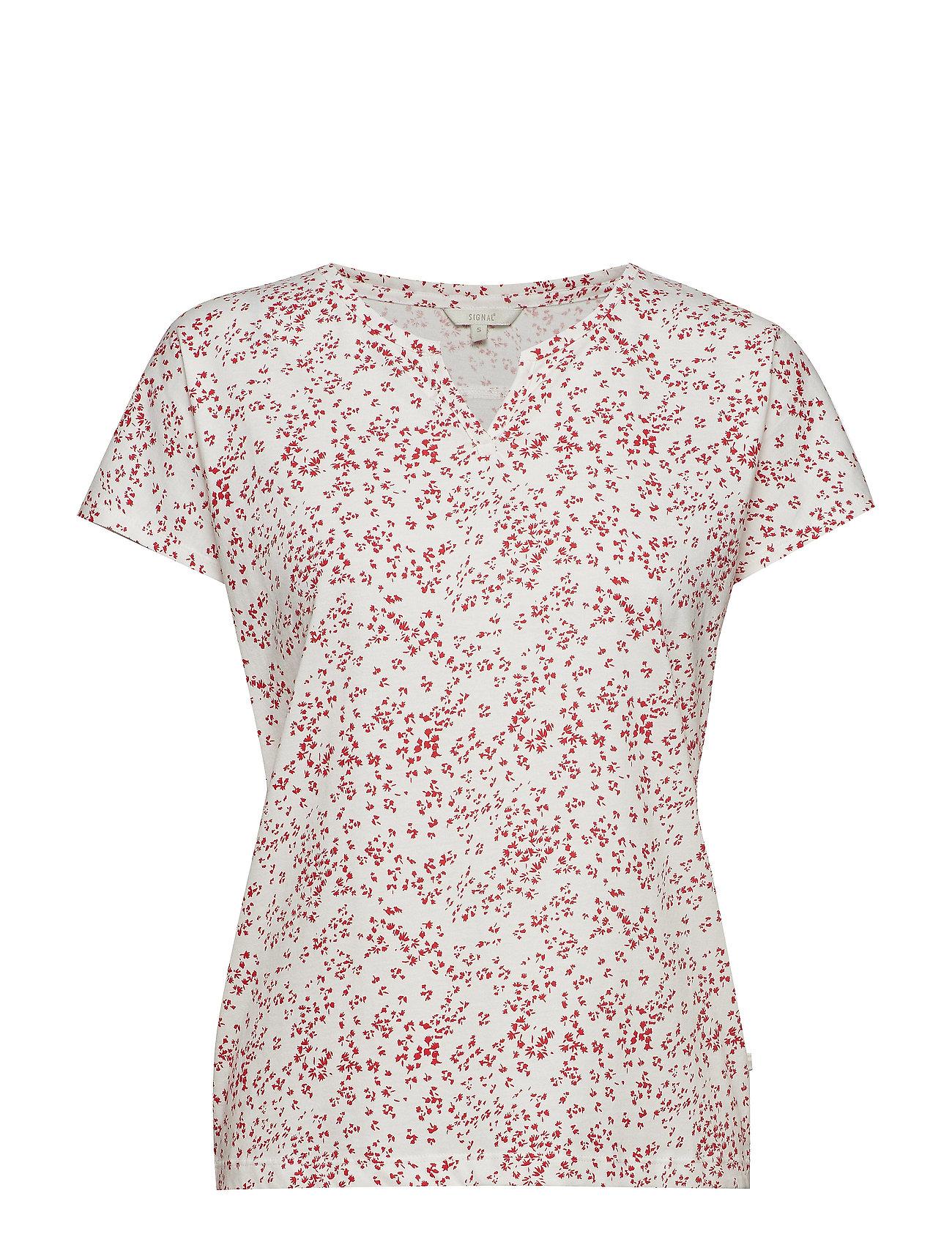 T ShirtTop T shirt Top Lyserød SIGNAL