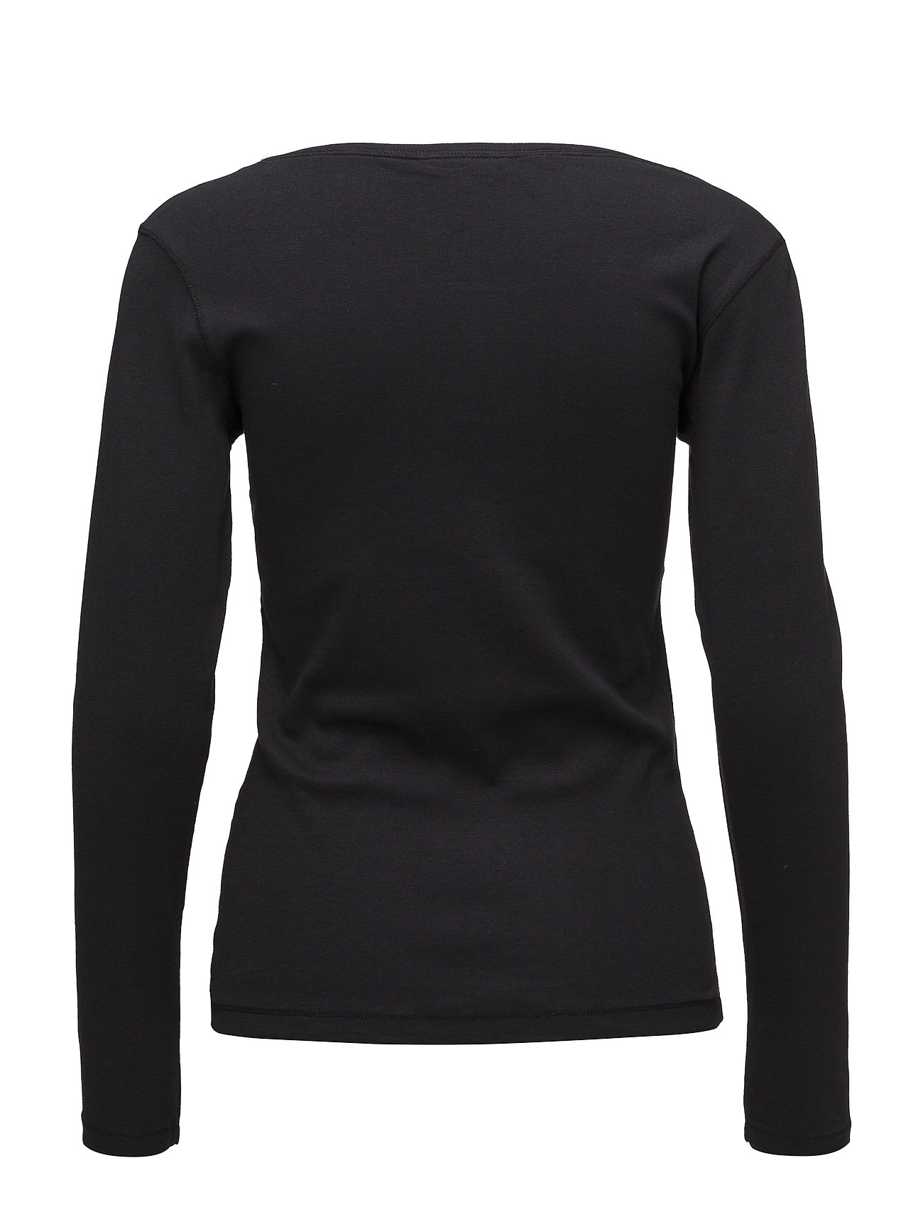 T ShirtTop Langærmet T shirt Sort Signal