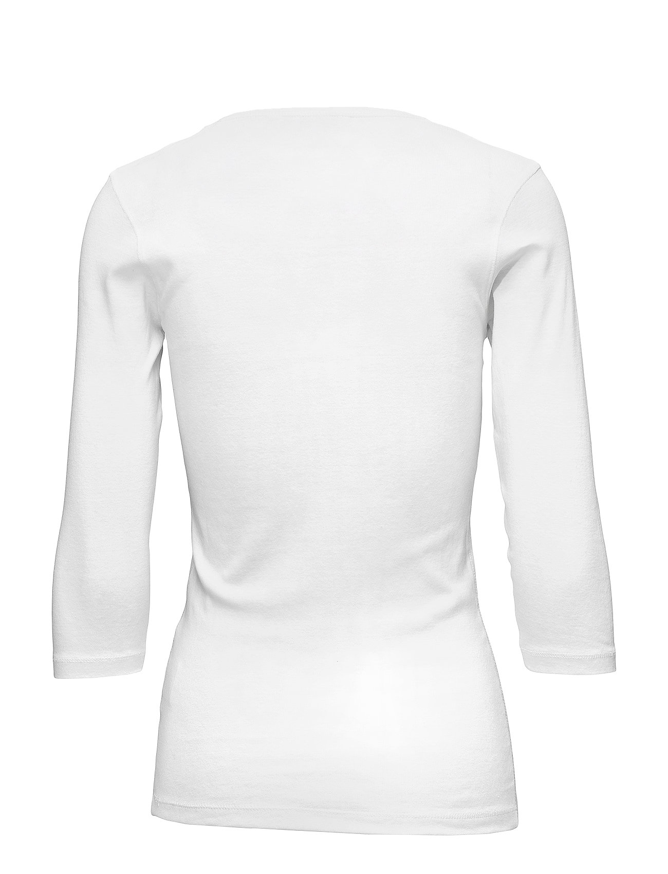 T ShirtTop Langærmet T shirt Hvid Signal