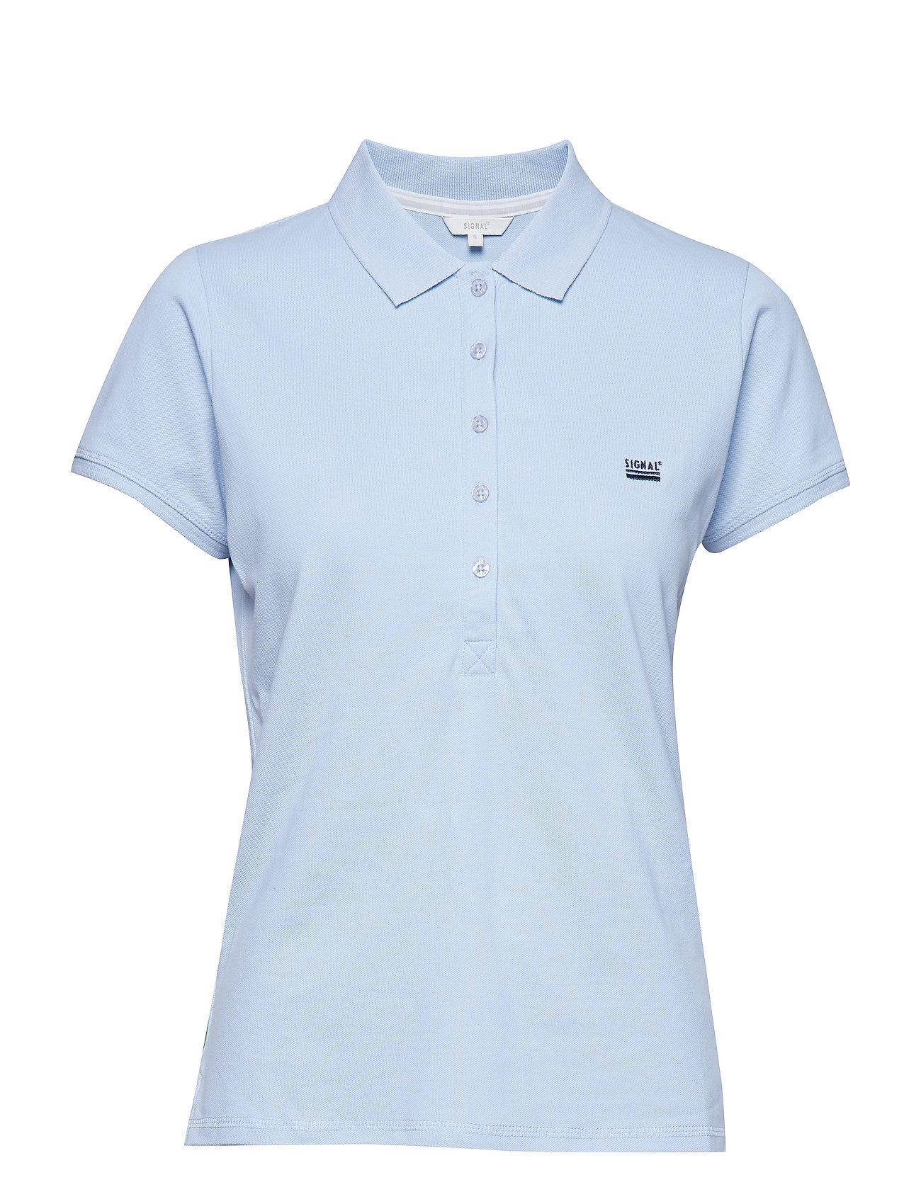 Image of T-Shirt/Top T-Shirts & Tops Polos Blå Signal (3119380335)