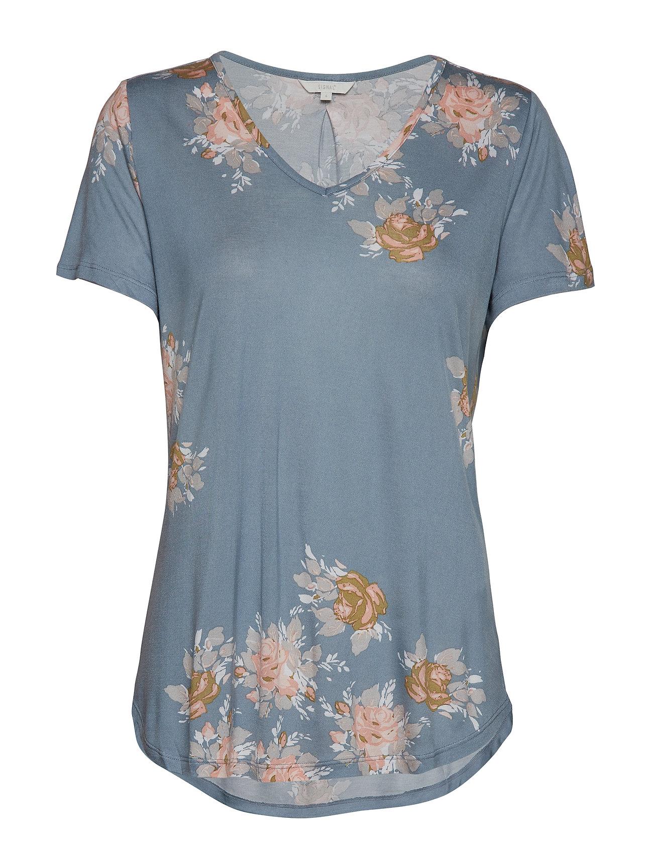 Signal T-shirt/Top - MISTY ROSE