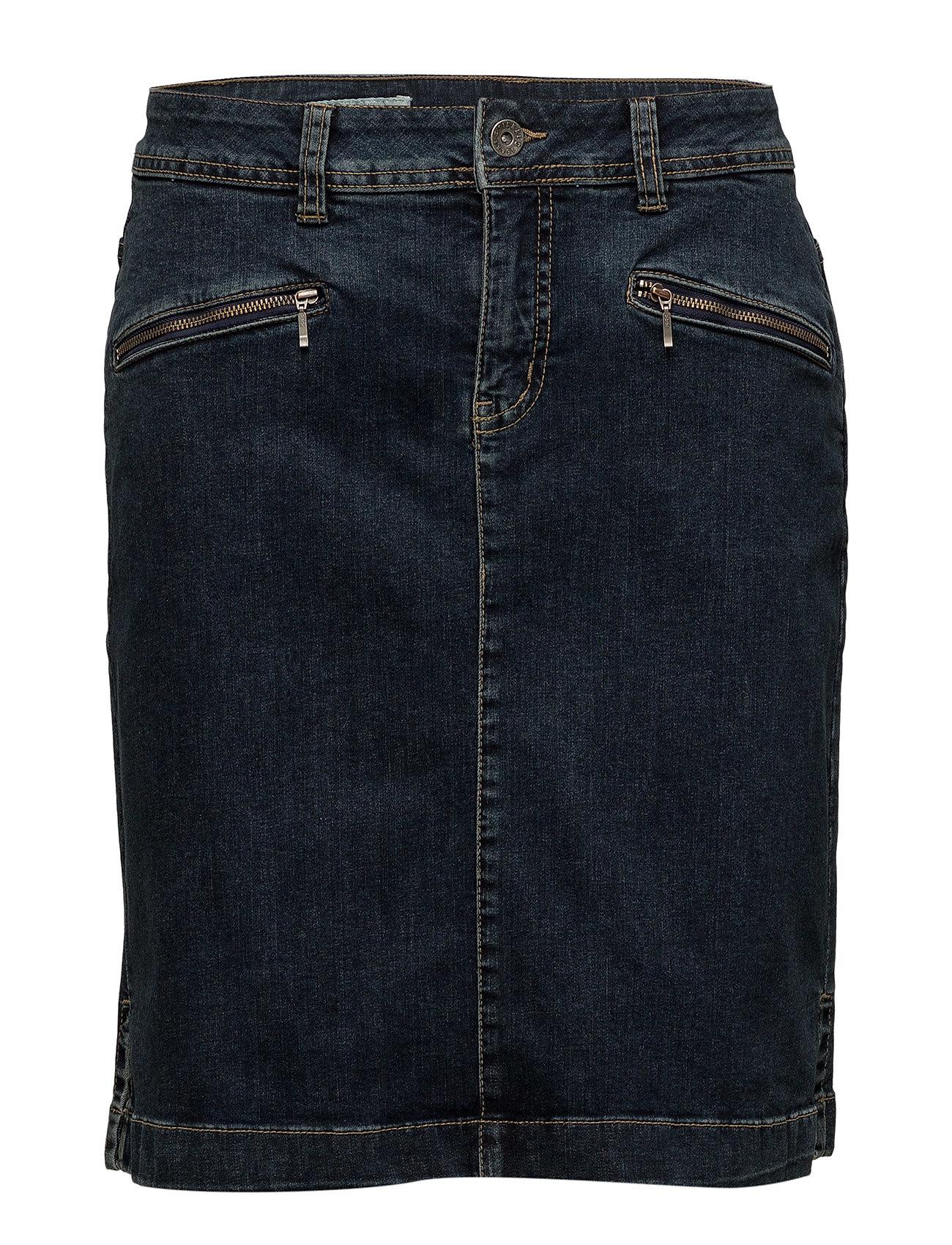 Signal Skirt - DARK BLUE DENIM