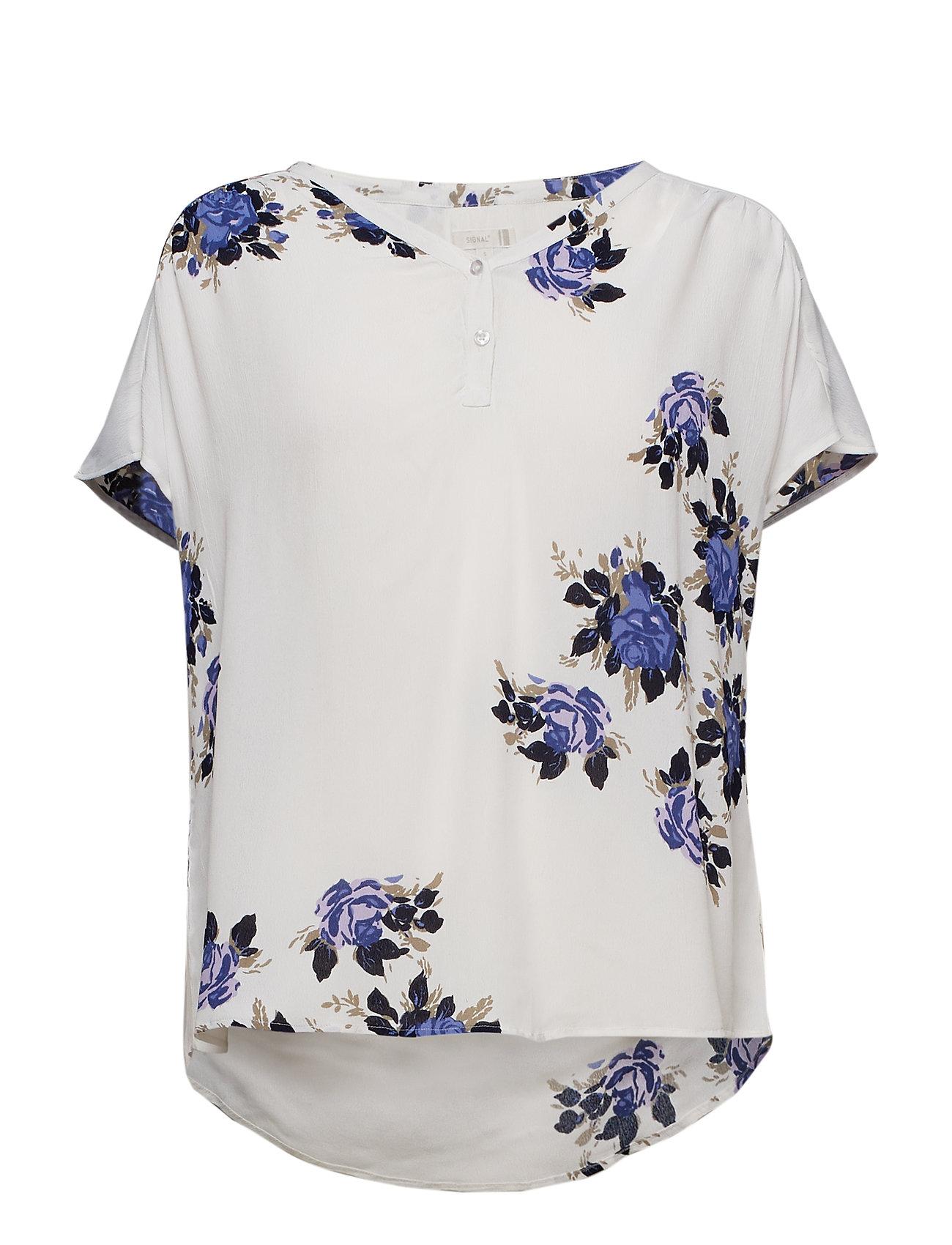 Image of Shirts T-shirt Top Blå Signal (3133209305)