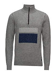 Knit - GREY MELANGE