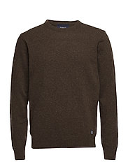 Knit - BROWN LICORICE MEL