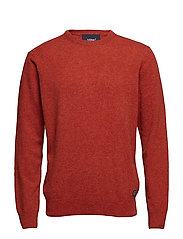 Knit - ORANGE RUST MELANGE