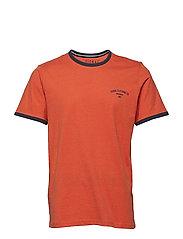 T-shirt/Top - ORANGE MELANGE