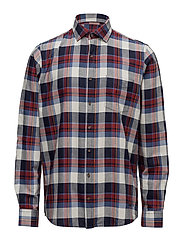 L/S Shirts - RED SHIRAZ