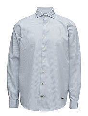 L/S Shirts - ESTATE BLUE