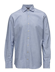 L/S Shirts - ESTATE BLUE