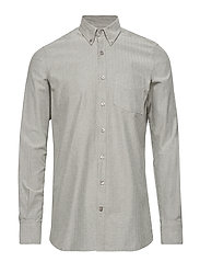 L/S Shirts - LIGHT GREY MELANGE