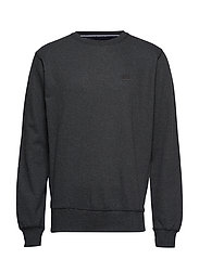 Sweatshirt - DARK GREY MELANGE