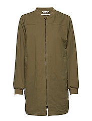 Jacket - BURNT OLIVE