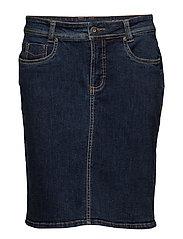 Skirt - DARK BLUE DENIM