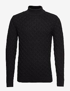 Knit - DARK GREY MELANGE