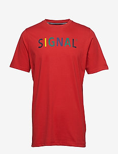 T-shirt/Top - kortærmede t-shirts - red scarlet