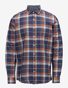 L/S Shirts - APRICOT ORANGE