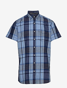 S/S Shirts - POND BLUE
