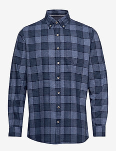 L/S Shirts - DUKE BLUE MELANGE