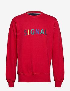 Sweatshirt - sweatshirts - red scarlet